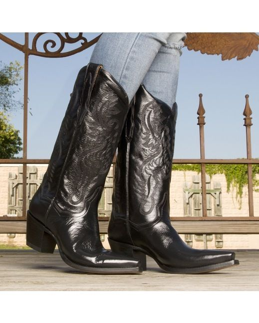 5ef6147a8d4 Dan Post Women's Maria Boots - Black   What to Wear - Boots n' Shoes ...