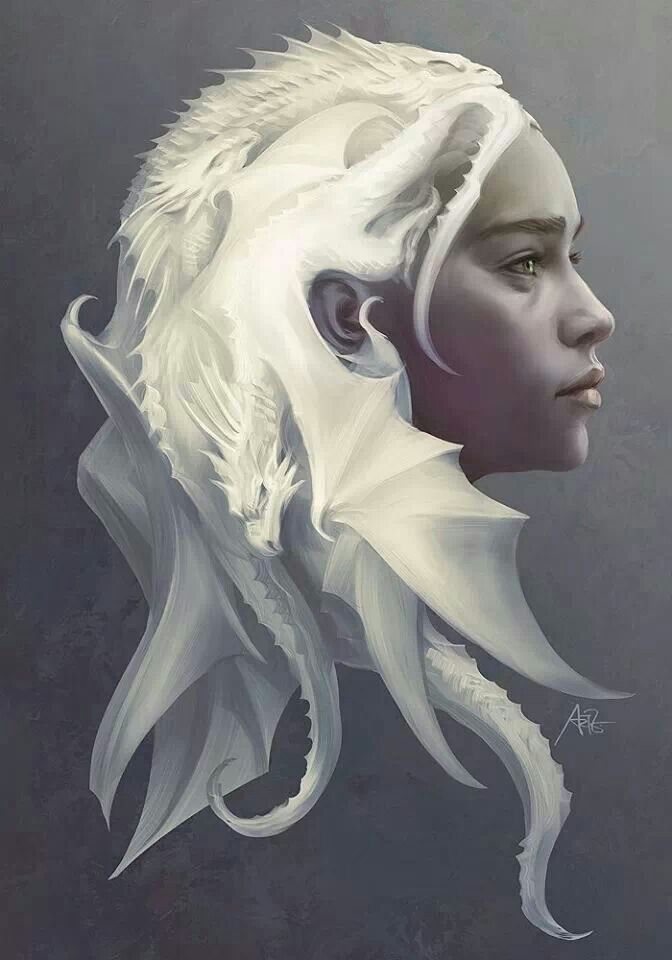 Daenarys Targaryen's Dragon hair
