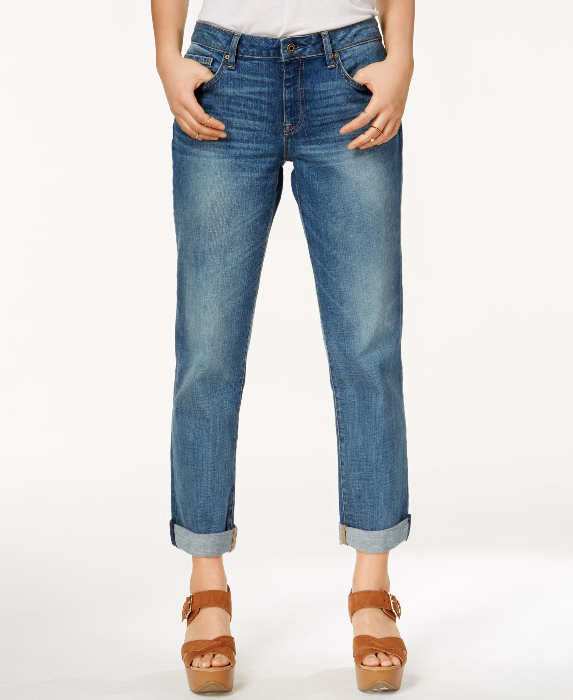 a1e8e22b Tommy Hilfiger Fleetwood Medium Wash Boyfriend Jeans | This & That ...