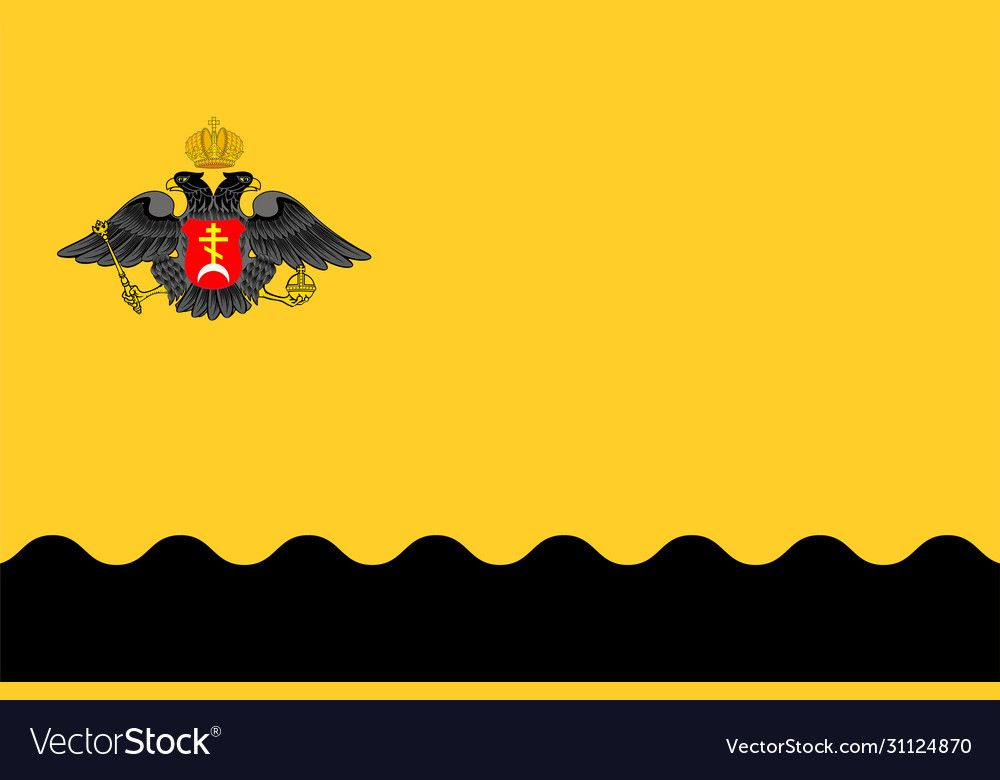 Flag Novorossiysk Russia Vector Image On Vectorstock In 2020 Vector Images Vector Vector Illustration
