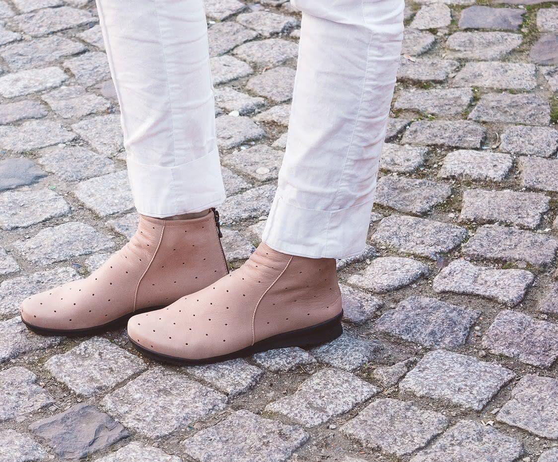 Arche Damen Stiefelette Baryks Altrosa Stiefeletten Arche Schuhe Stiefeletten Damen