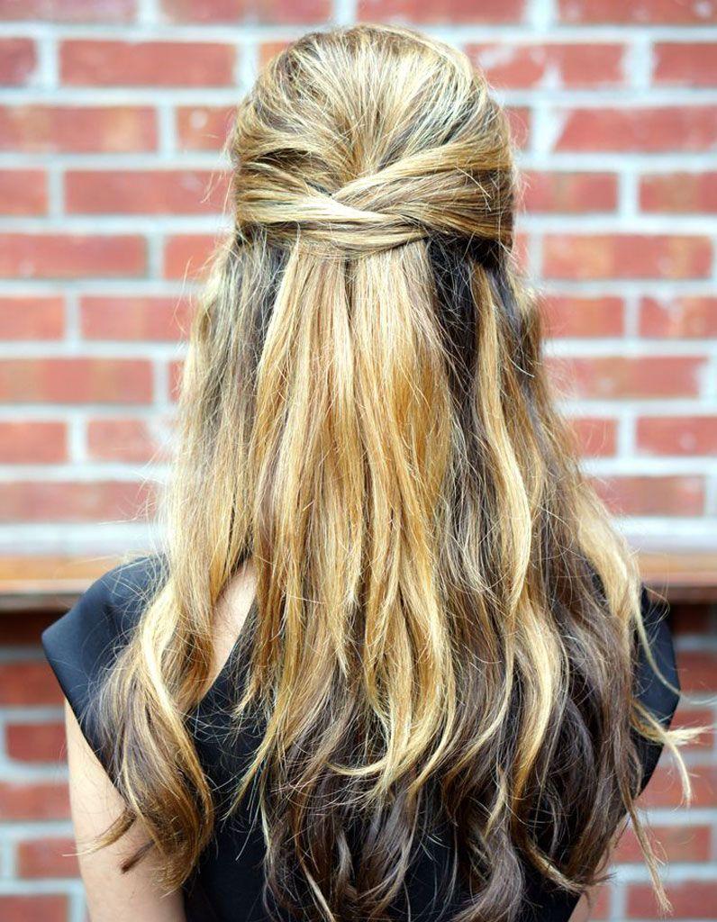 Des idées de coiffures faciles Coiffure facile, Coiffure