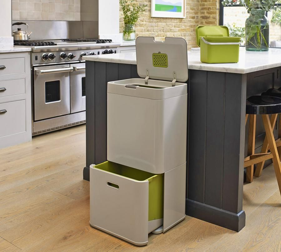 Intelligent Waste All In One Garbage Recycling And Food Bins
