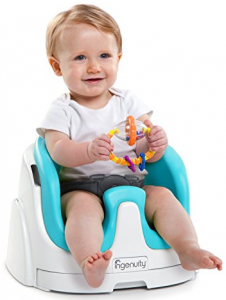 Check My Review On Ingenuity Baby Base 2 In 1 Booster Seat In Aqua From Baby On Floor And Feeding High Chairs In 2020 Baby Booster Seat Booster Seat Best Booster Seats