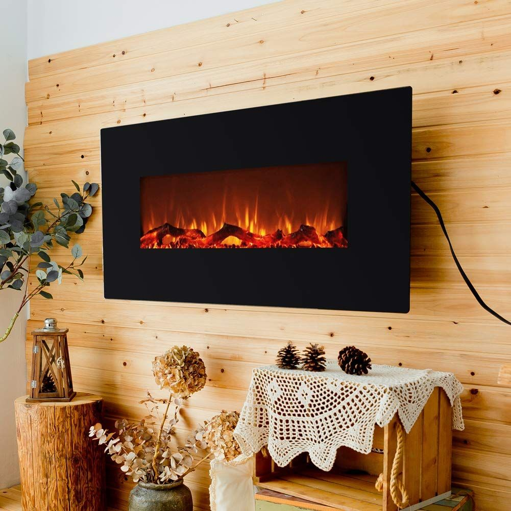 Amazon Com Flame Shade Electric Fireplace With Heater 42 Flat