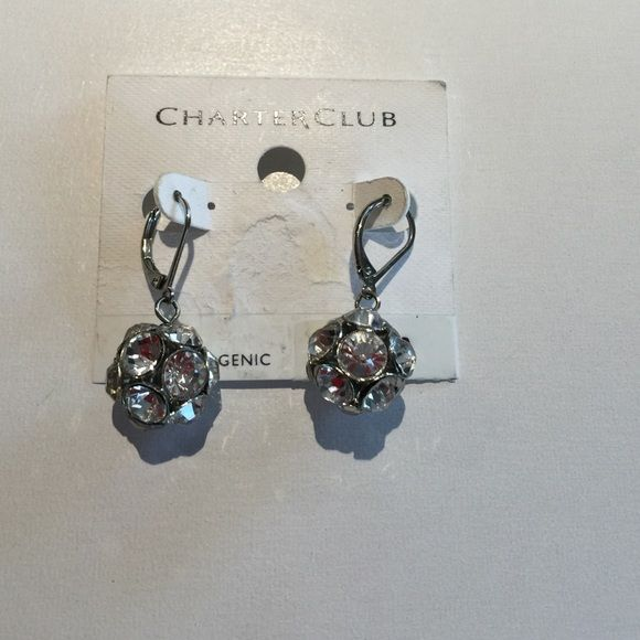 Charter Club earing New with tag. Charter Club Jewelry Earrings