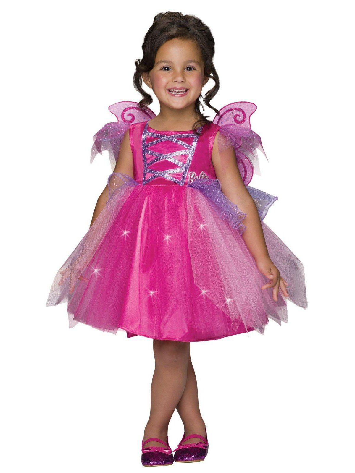 83c1f8ee11e Rubie's Costume Barbie Light-Up Fairy Dress Child Costume | All ...