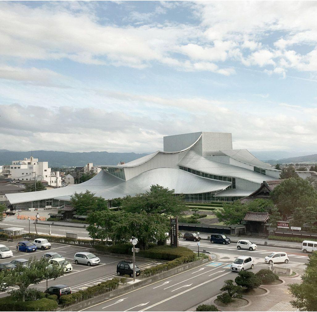 SANAA, Ciudad de la Cultura de Tsuruoka (Japón ...