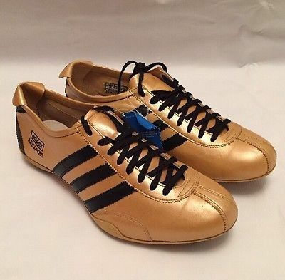 Adidas azteca gold vintage trainers from 1968 in unbelievable condition  (49-yr-old!!!) 7780bf6de517
