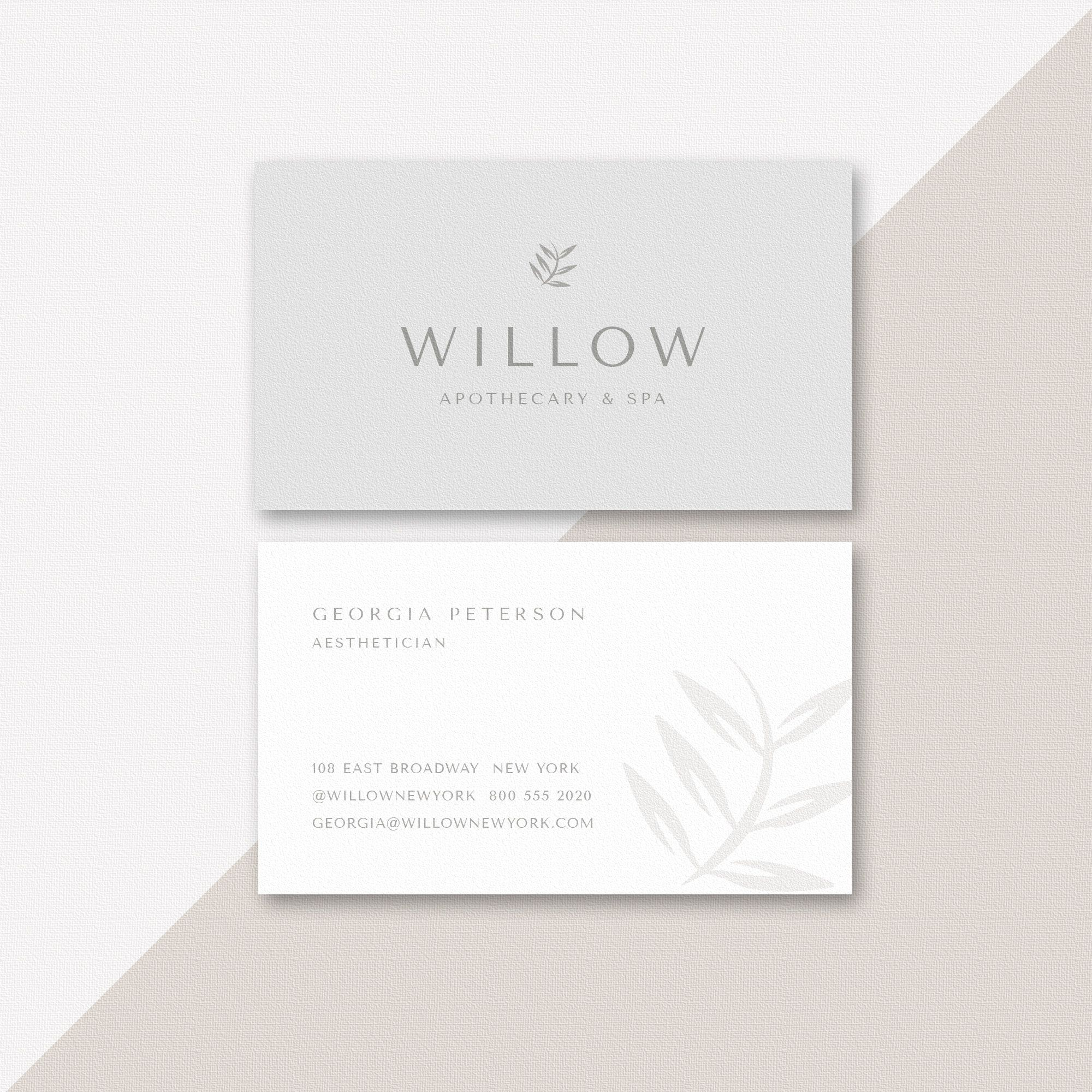 Boutique Business Card Template Instant Download Minimalist Etsy In 2020 Business Card Photoshop Boutique Business Cards Marketing Business Card