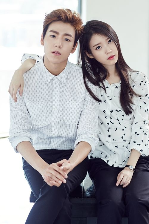 IU and Lee Hyun Woo pair up as a cute couple for UnionBay