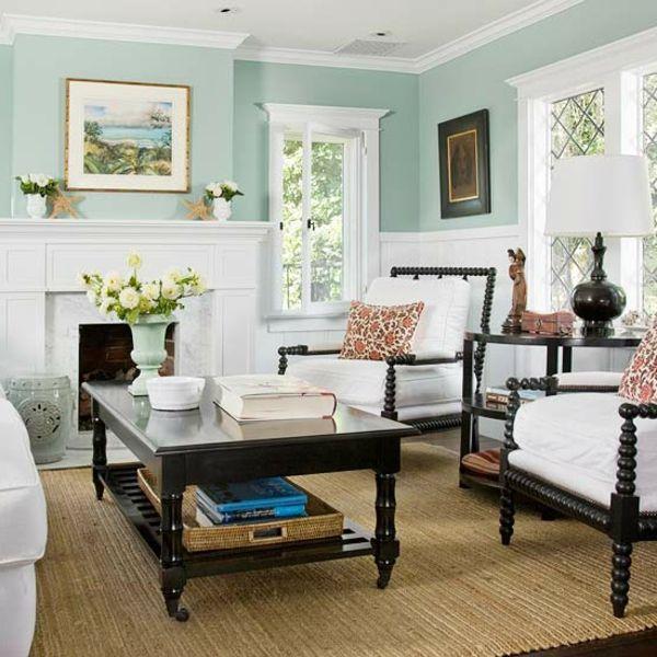 Ideen Fr Wohnzimmer Mit Dekorativen Elementen