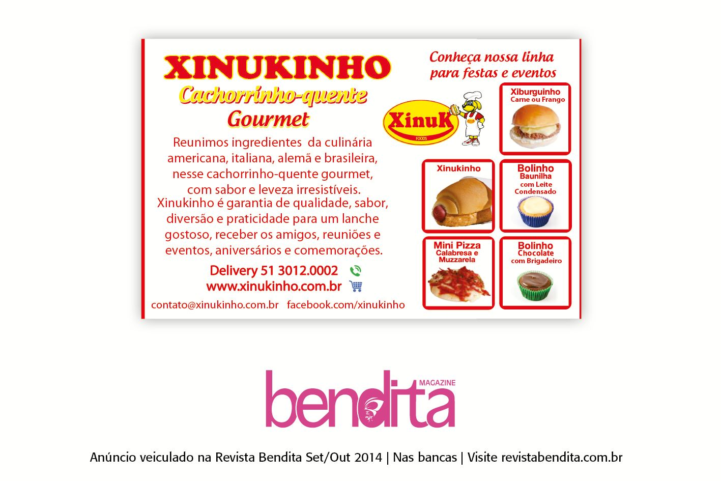 Publicidade Xinukinho