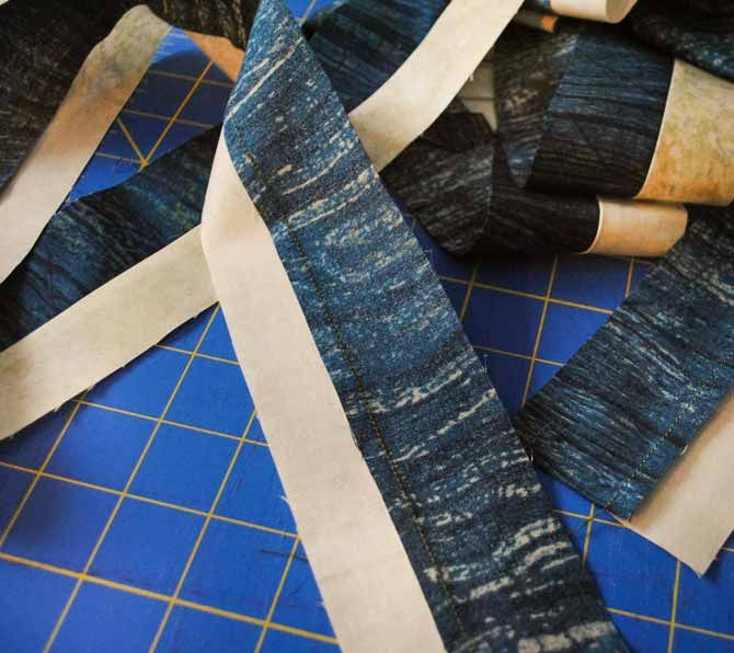 Sewing A Flanged Binding Onto Your Quilt