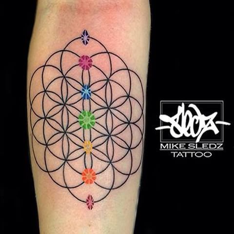 Image result for flower of life tattoo laura 39 s tattoos for Life is good tattoo