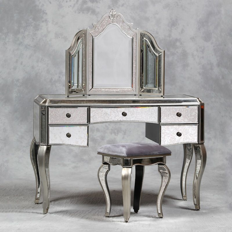 Mirrored Furniture, Used Mirrored Tables