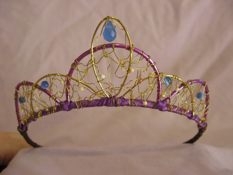 Pin By Theresa Charbonneau On Craft Ideas Diy Tiara Tiara Jewelry Projects