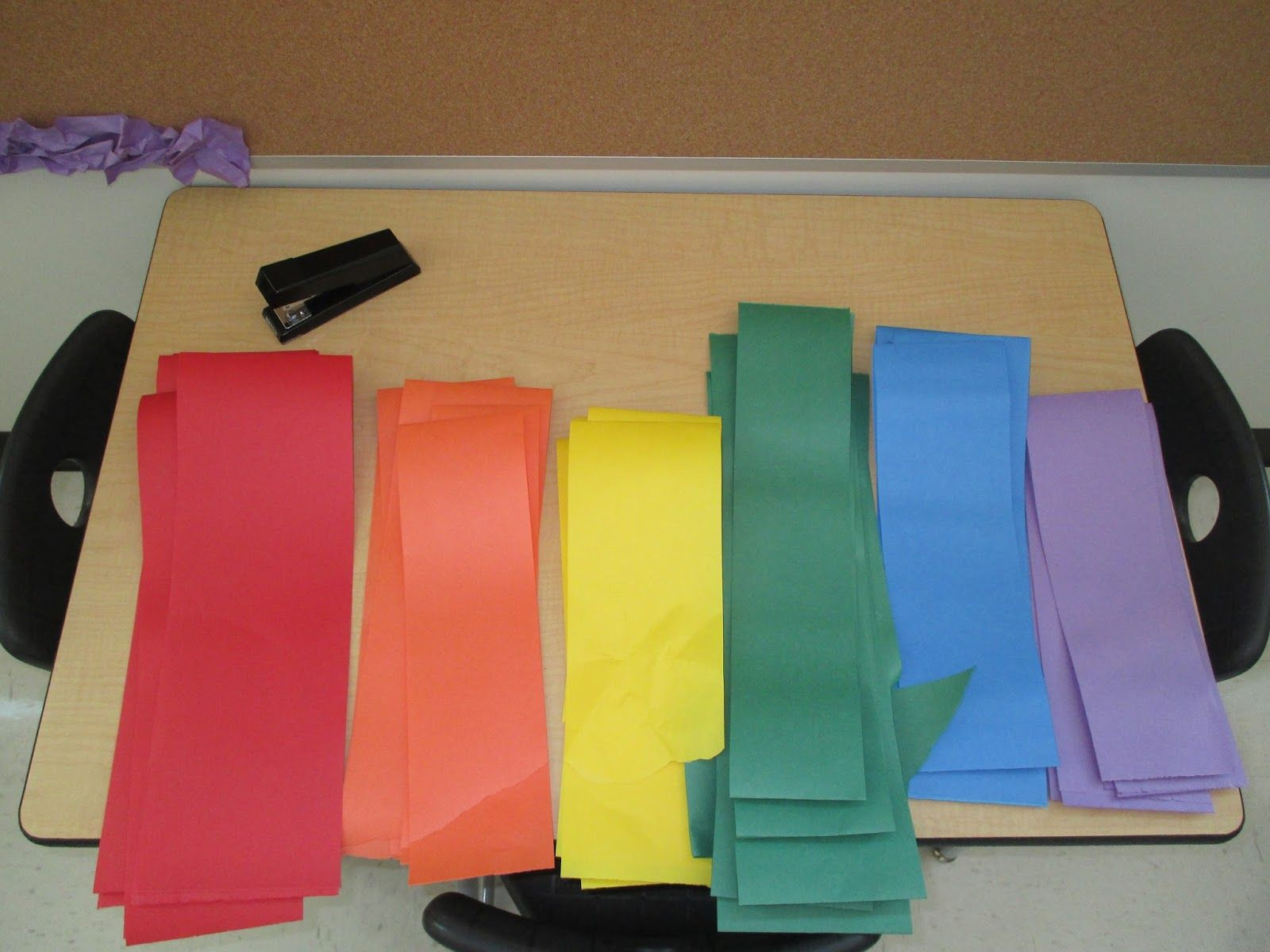 Classroom Border Ideas ~ Diy scrunchy borders for bulletin boards educational