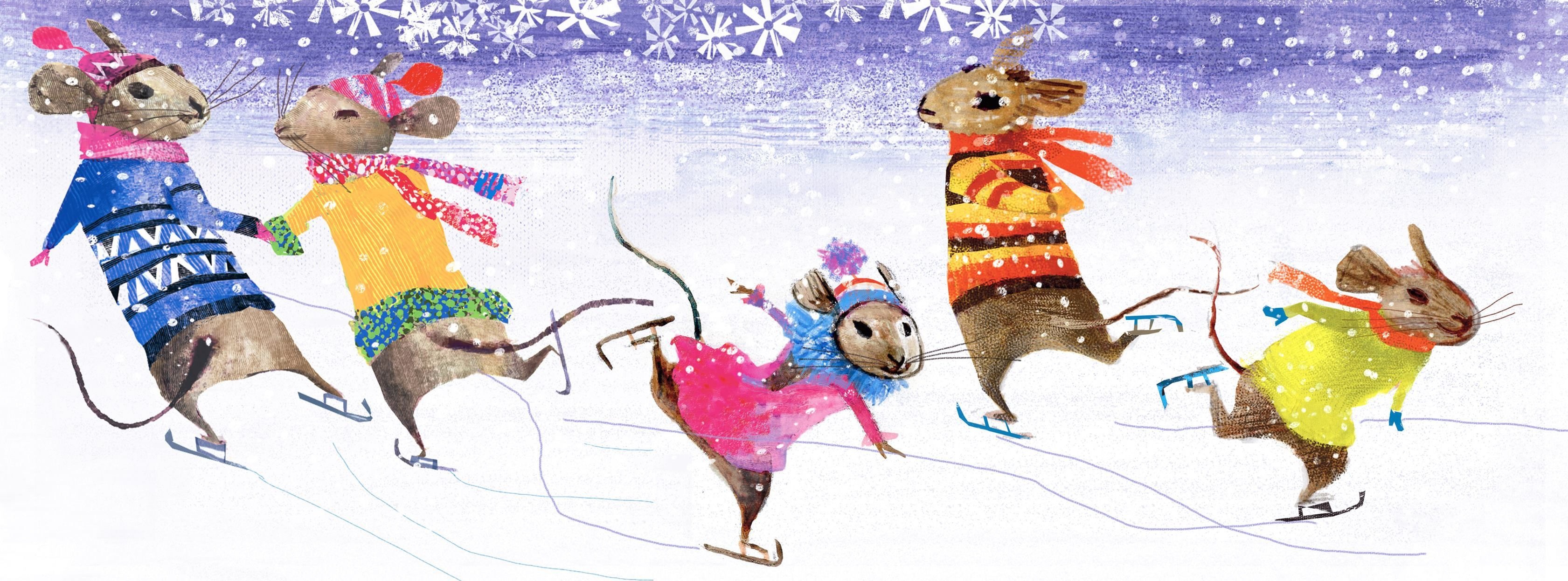 Mice skating   Gifts for pet lovers, Animal lover, Ice skating