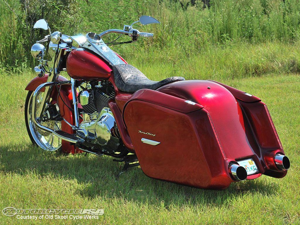 Bagger Motorcycle Harley Bikes
