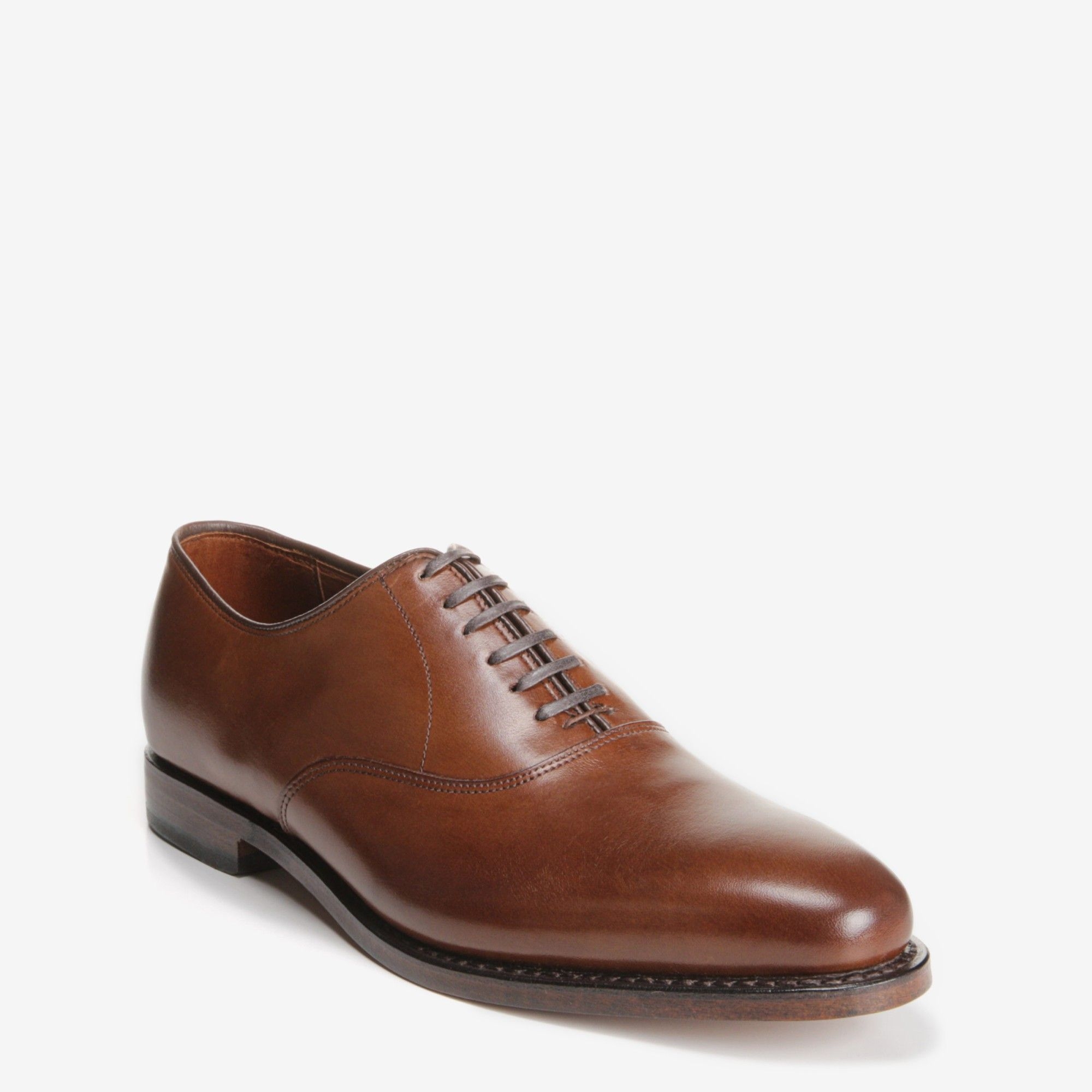 70fd1f583b8 Carlyle - Plain-toe Lace-up Oxford Men s Dress Shoes by Allen Edmonds.  Leather Sole. Eligible for Recrafting. Handcrafted in the USA of fine  imported ...