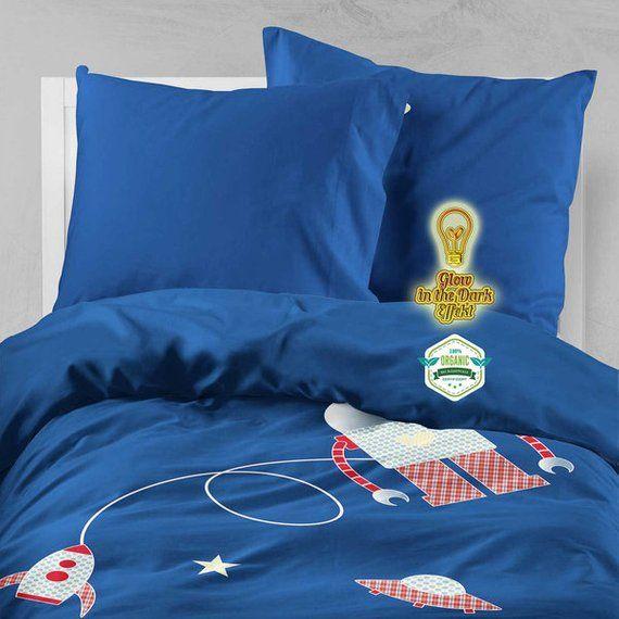 5tlg Set Kinder Bettwäsche Für Jungen 135x200 80x80