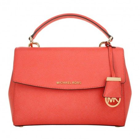 Michael Kors Tasche – Ava SM TH Satchel Coral Reef – in rot