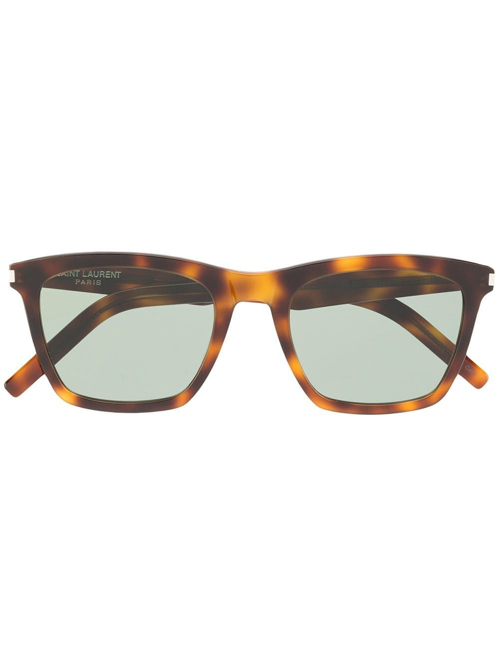 408e8dba644 Saint Laurent Eyewear Tortoiseshell Square Sunglasses in 2019 ...