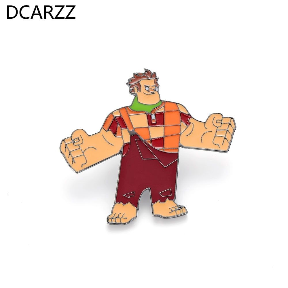 Wreck it Ralph Enamel Pin,Action Figure Ralph Cartoon Jewelry Label Brooch for Kids Christmas Gift Drop Shipping    Buy Now     Discount: 30% Price: 2.8 USD  1.96 USD     Wreck it Ralph Enamel Pin,Action Figure Ralph Cartoon Jewelry Label Brooch for Kids Christmas Gift Drop Shipping #wreckitralph