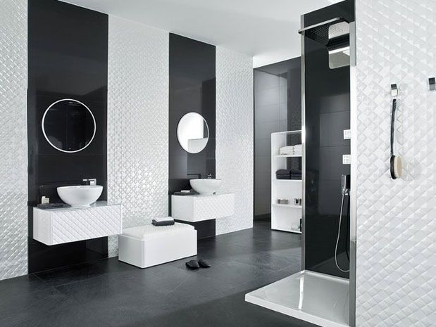 Explore Tile Warehouse, Bathroom Inspiration, And More! Two Tone Tiles