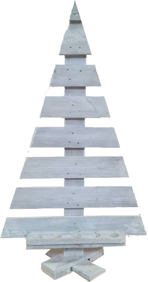 Sweet Living Grote Witte Houten Kerstboom Christmas Tree Houten