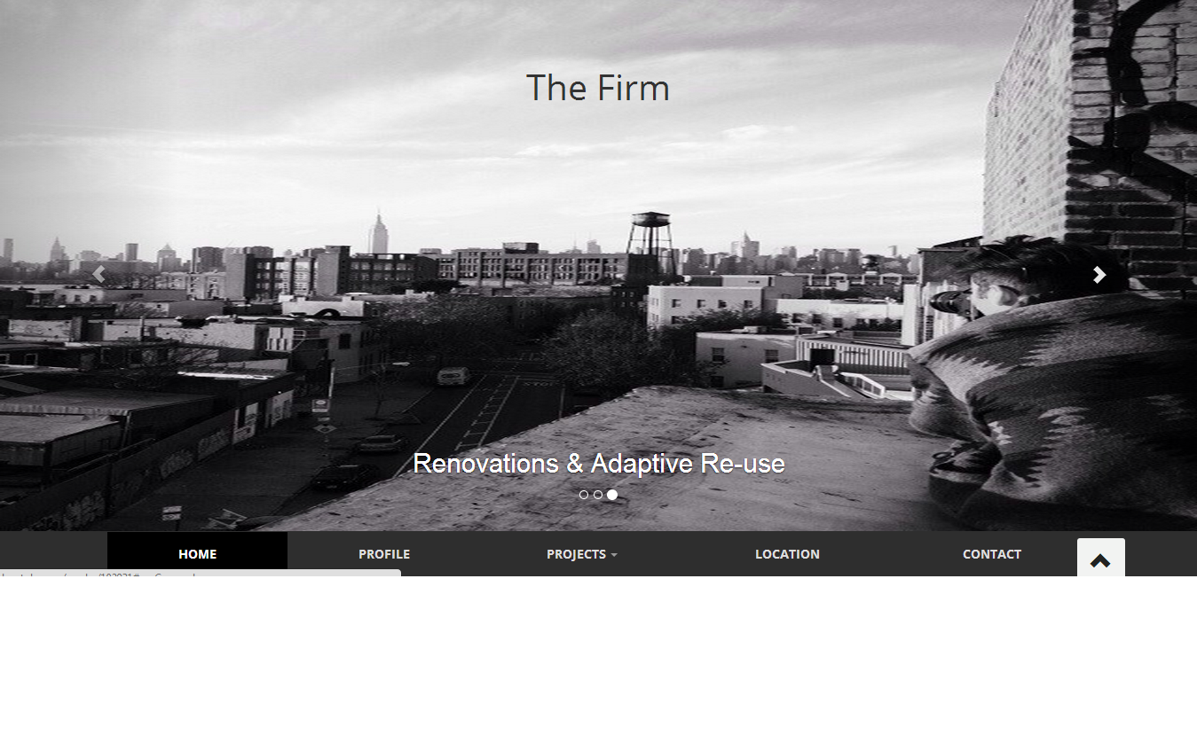 The Firm Bootstrap Template. http://www.bootply.com/render/102931 ...
