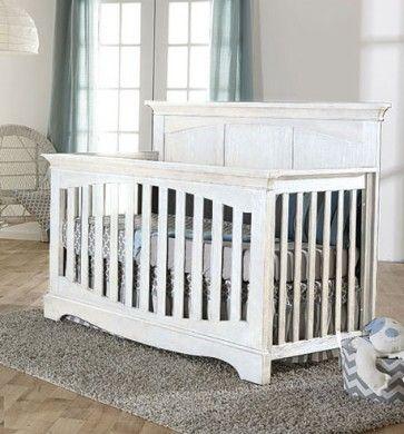 dbcf3337f459a Pali Ragusa Convertible Crib in Vintage White