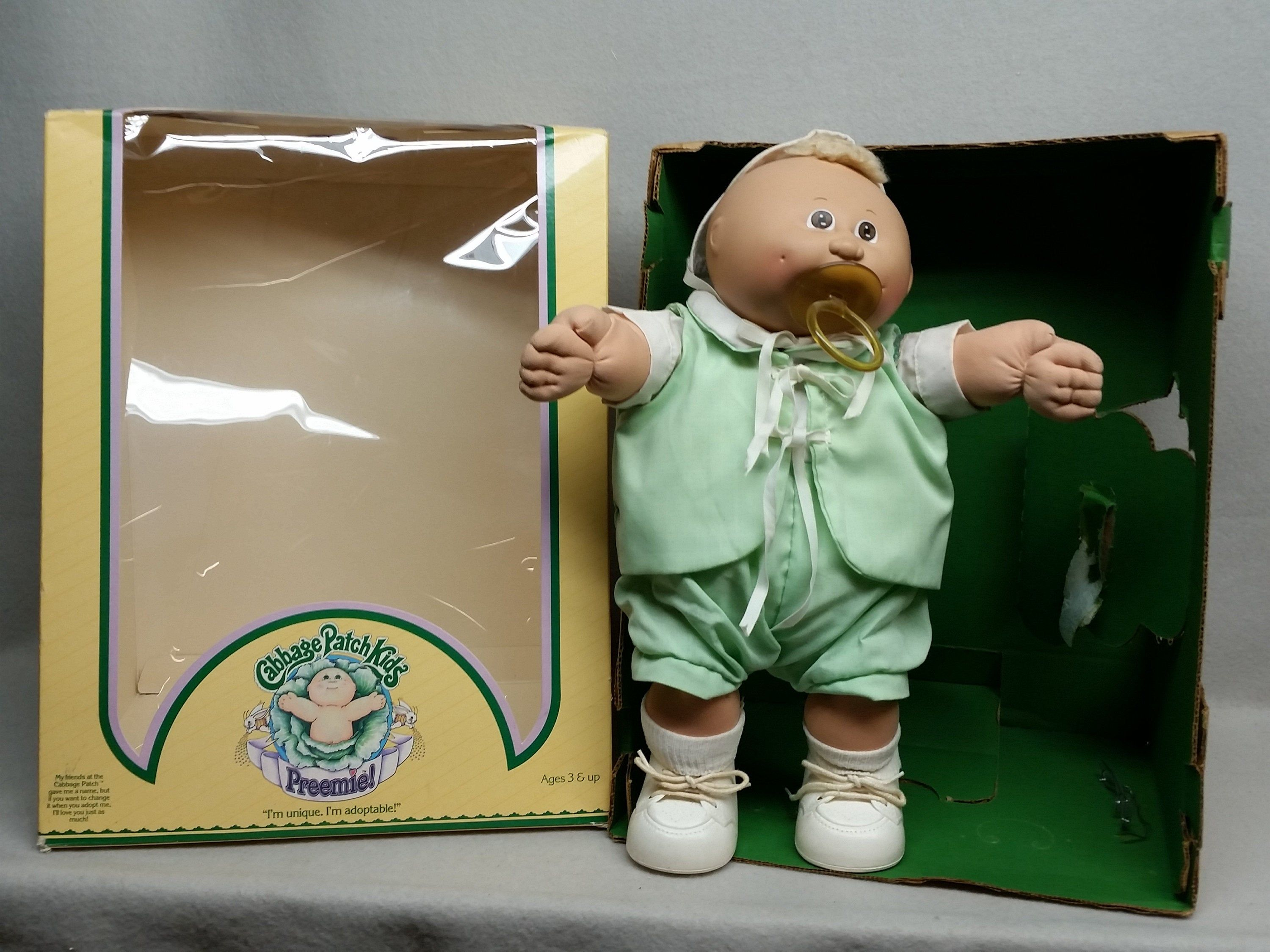 Cabbage Patch Preemie 1983 Coleco Etsy Preemie Cabbage Patch Little Boys
