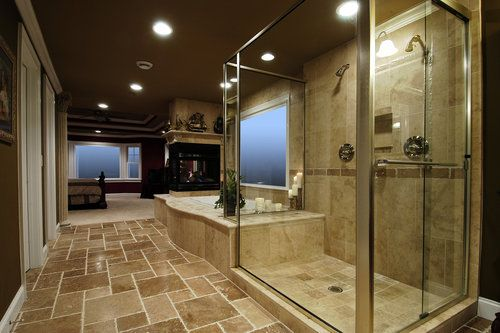 We have an open floor plan in our bathroom would consider for Master bedroom and bathroom