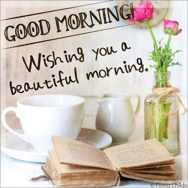 Good Morning, Friends. I Hope Your Day Is Everything YOU