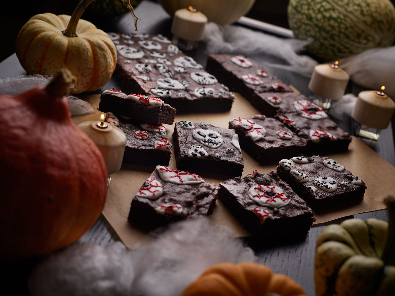 Boo! Chef Elizabeth Blau's 'Chilling' Brownies Are Perfect for Halloween #halloweenbrownies