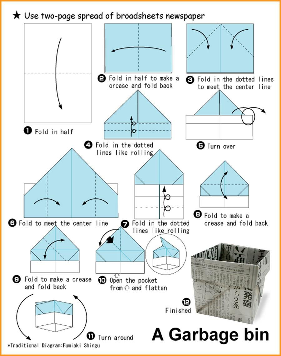How to Fold a Paper Box recommend