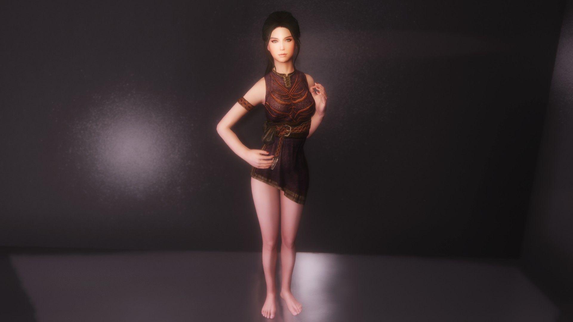 CBBE HDT Minidresses at Skyrim Nexus - mods and community   Skyrim