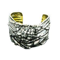 Cherry Blossom Cuff Bracelet $550