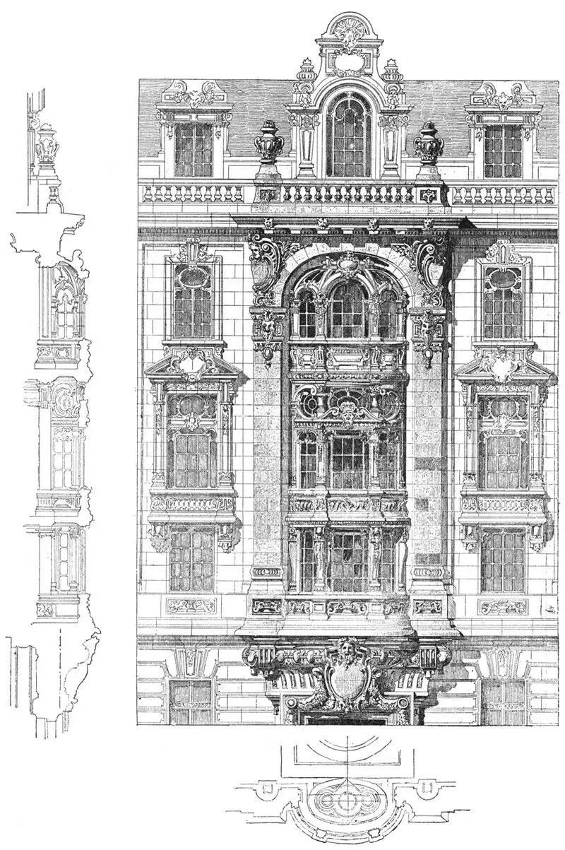 Pin By Diego Tomas Garay On Arhitektura Architecture Drawing Architecture Old Classic Architecture
