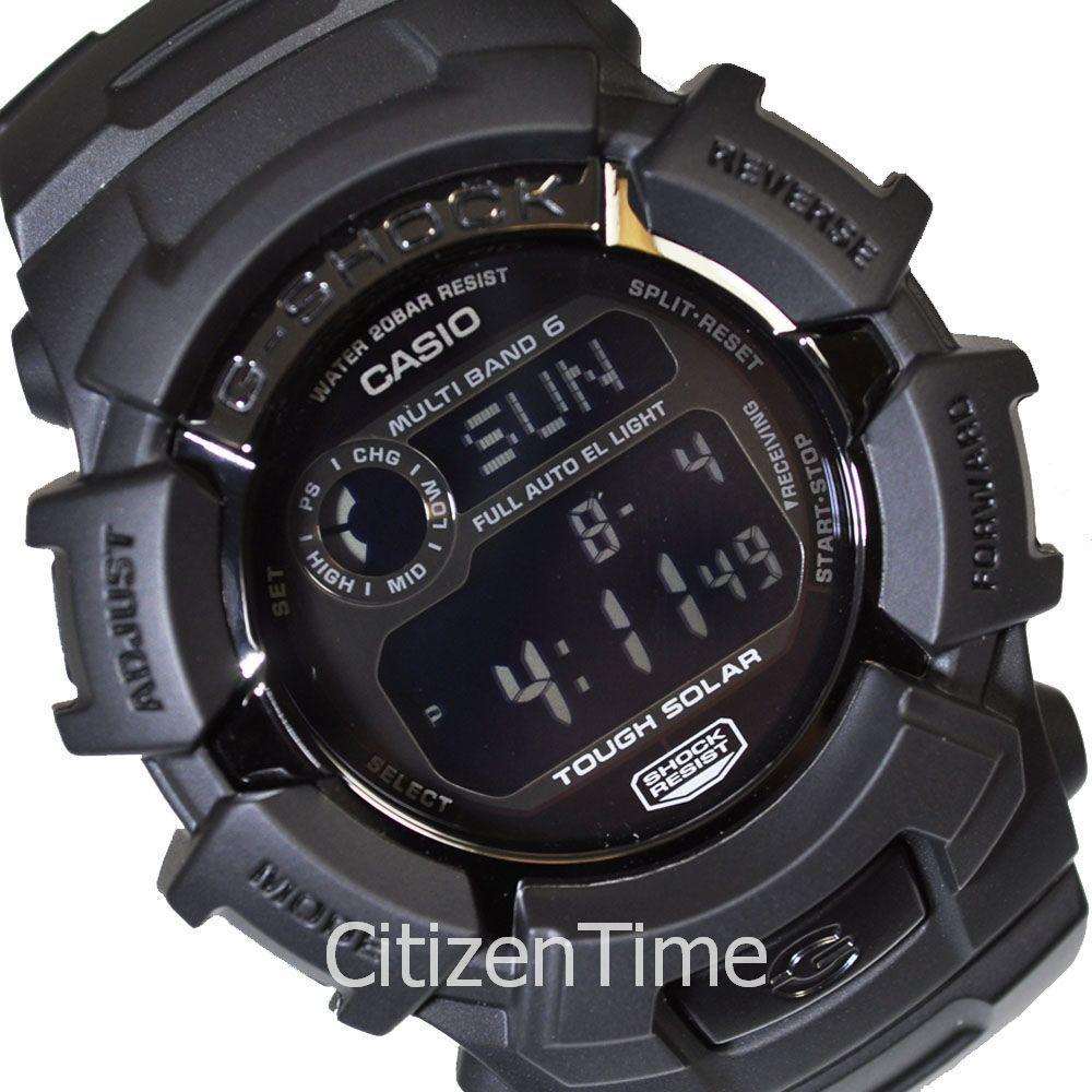New Casio G Shock Black Atomic Solar Watch Gw2310fb 1 Gd 400mb