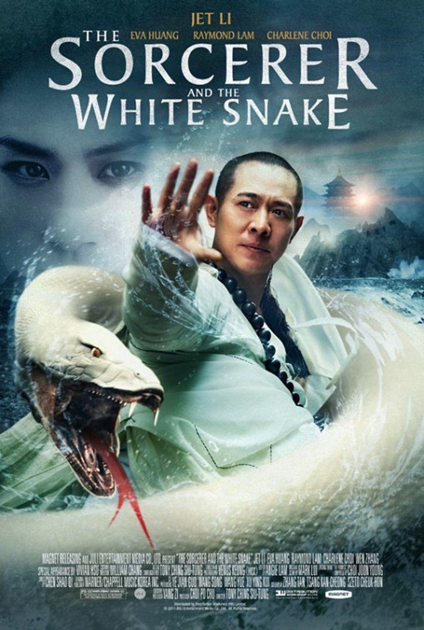 The Sorcerer And The White Snake 28 09 2011 Jet Li Sorcerer Fantasy Movies