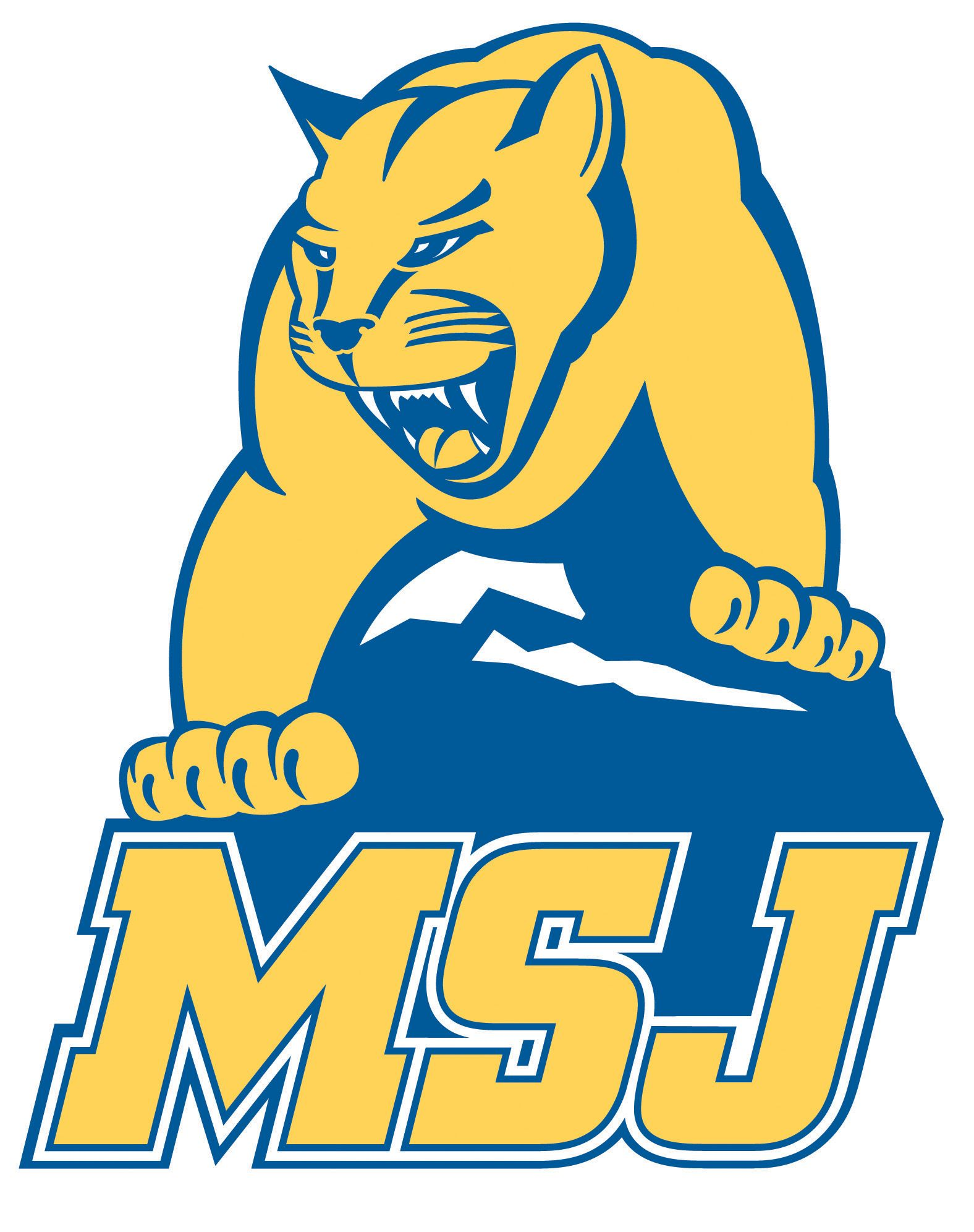 Mount st joseph athletics sports logo university logo