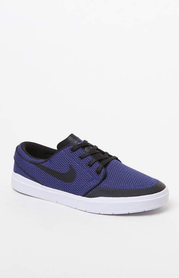 doblado agujero Certificado  Nike SB Lunar Stefan Janoski Hyperfeel XT Black & Blue Shoes | Blue shoes,  Nike, Nike sb