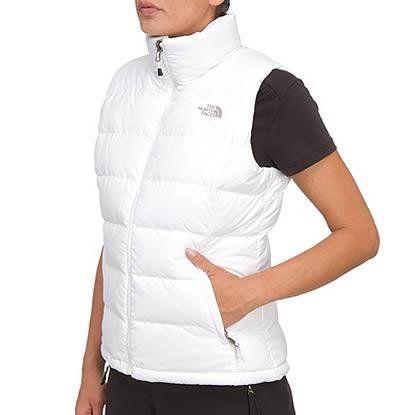 0be329ce1da6 Nice New The North Face Women  s Nuptse Down Vest - TNF White TNF ...