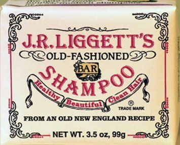 J.R. Liggett's Old-Fashioned Bar Shampoo. It's got old-timey, Vermont-country-store appeal, but this shampoo-meets-soap-brick delivers serious results, too: It gets rid of buildup like nothing else; it's really long lasting ( the bar dries out quickly after each use); and it smells pleasantly herby. $6 @ jrliggett.com