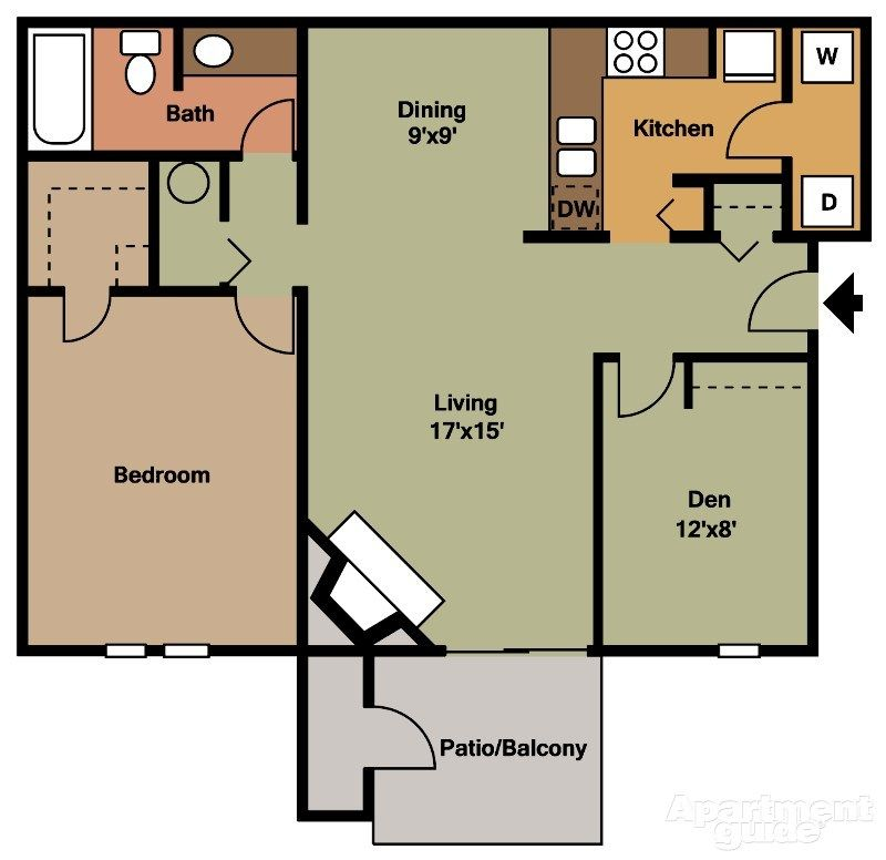 Oaks At Woodridge Apartments For Rent Apartment Woodridge