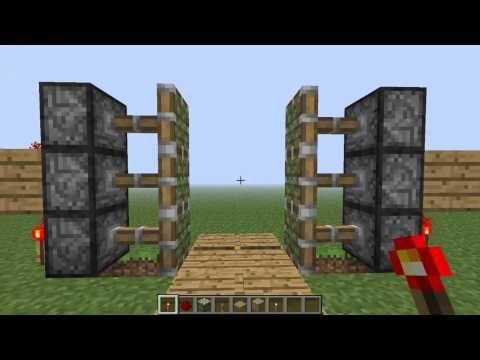 Minecraft Tutorial RedstoneBurgtor Deutsch YouTube Minecraft - Minecraft spielen echt