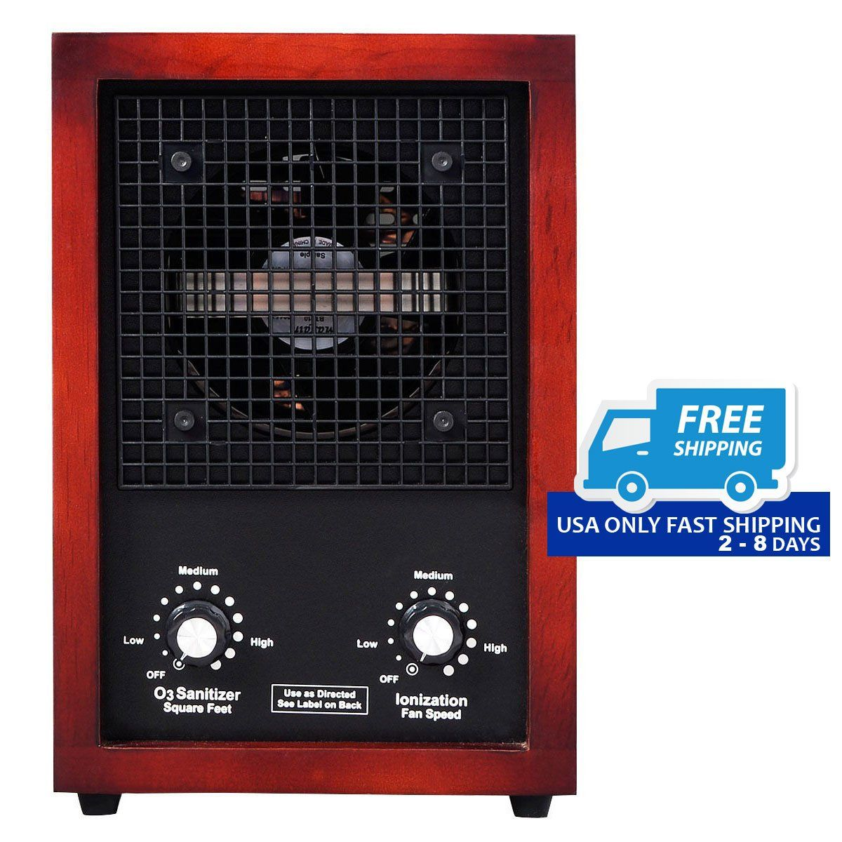 3500 sq.ft Ionic Ozone Ionizer Cleaner Air Purifier